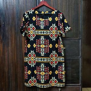 Aztec Shift Dress